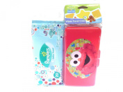 Sesame Street Beginnings Elmo's Baby Wipes Travel Case + Pampers Baby Fresh Wipes Starter Pack Bundled Set Nappy Bag Travel Gift Set
