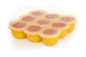Kemdel (TM) Silicone Baby Food Freezer Storage Tray, Perfect Storage, Ultra Hygienic! Safe and Easy,