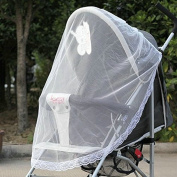 Stylish Useful Safe Protector Stroller Infants Baby Mesh Fly Bee Insect Bug Cover Mosquito Net