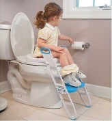 NEW Toilet Trainer Potty Seat Step Ladder Folding Toilet Training Toddler Poddy