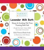 Lavender Milk Bath - Best Kids Bath Salt - Sleepy & Soothing Tub Time Foaming Bath Salt