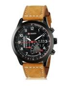 Latest Style Authentic Curren Men's Watches Sports Military Men Quartz Watch,black