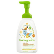 Babyganics Night Time Shampoo + Body Wash, Natural Orange Blossom 16 fl oz