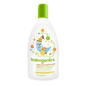 Babyganics Night Time Bubble Bath, Natural Orange Blossom 12 fl oz