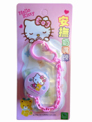 Hello Kitty Baby Pacifier Holder with Smooth Edged Clip - New & Improved