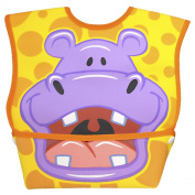Dexbaby Big Mouth Orange Hippo Bib