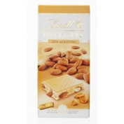 Lindt Les Grandes White Almond Chocolate 150g.