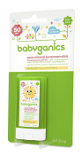 Babyganics Mineral-Based Baby Sunscreen Stick, SPF 50, .1390ml Stick