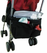 Better Space Stroller Organiser w/Cooler, Black