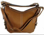 Cross Body Gun Concealment Purse Left/Right Hand 8007 BROWN