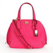 Coach 34940 Prince Street Mini Satchel Crossgrain Leather Pink Ruby
