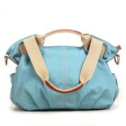 Eshow Women's Casual Canvas Everyday Purse Hobo Shoulder Bag