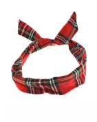 Zac's Alter Ego® Tartan Print Wire Headband