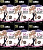 Colorsport Diva Mascara Dark Brown x 6 Packs