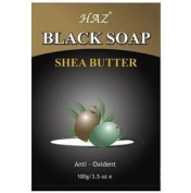 Haz Black Soap with Shea butter 100g