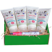 JooMo 4-Month Skin Recovery Package - World's FIRST EVER 100% Truly Natural Face Wash for Girls - End the Skin Health Crisis