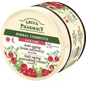 Green Pharmacy Anti-ageing Nourishing Cream CRANBERRY Parabens Free 150ml For Mature, Requiring Regeneration, Sensitive Skin
