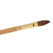Kolinsky Sable No 10 Oval Acrylic Brush The Edge Nails