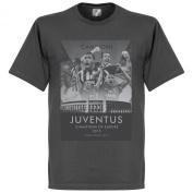 2015 Juventus European Champions Tee - Dark Grey