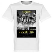 2015 Juventus European Champions T-shirt - White