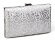 KISS GOLD(TM) Exquisite Leather Metal Hollow Designer Clutch Bag Evening Handbags