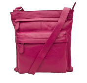 Prime Hide Ladies Large Leather Fashion Crossbody Bag - 985