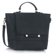 Ladies Fashion Trendy Faux Leather Quality Handbag Women's High Fashion Designer Tote Bags 00355