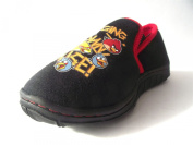 Boys Angry Birds Dismantle Black Slippers