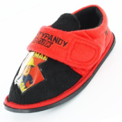 Fireman Sam Radar Black and Red Boys Slipper