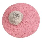 Topro Children Knitted Cap Winter Warm Knit Crochet Beanie Hat