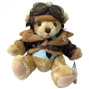 Military Heroes Trading Company WW2 Pilot Deluxe Teddy Bear