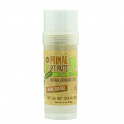 Primal Pit Paste Happy Pits Natural Deodorant Stick for Sensitive Skin, Aluminium Free, Paraben Free, No Added Fragrances, Coriander Sage