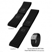 Scosche Rhythm+ Replacement Strap - Black Velcro Strap For Scosche Rhythm+ Optical Heart Rate Monitor Armband