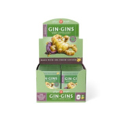 Ginger People Gingins Chewy Original Travel Packs - Case of 24 - 45ml
