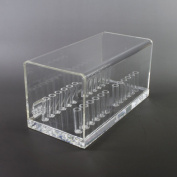 Orthodontic Preformed Wire Acrylic Organiser Dental Holder Case Box by Superdental