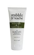 Stubble & Stache Face Moisturiser and Beard Conditioner, 90ml