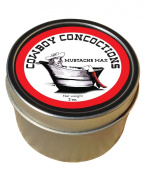 Moustache Wax -- 100% natural and unscented-- a full 60mls! by Cowboy Concoctions. Introductory Price!