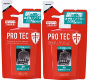 PRO TEC Two pack refill deodorant soap