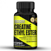 Creatine Ethyl Ester 500mg | #1 Creatine Ethyl Ester Capsules | Powerful Creatine Pills | 120 Muscle Gain Tablets | 2 Month Supply | Muscle Gain Supplement For Men And Women | Build Muscle Fast, Improve Performance And Explode Your Energy | Safe And Ef ..