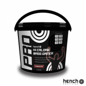 2.25KG HENCH NUTRITION PRO HI-CALORIE MASS GAINER / WEIGHT GAIN WHEY PROTEIN POWDER - CHOCOLATE