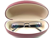 GLASSES SUNGLASSES SPECTACLES CASE HARD CASE FULLY LINED PROTECTIVE PU COVERED