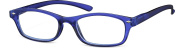 Sunoptic R18A Strength Plus 1 Clear Blue Reading Glasses