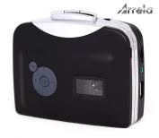 Arrela® Portable Ezcap USB Portable Cassette to MP3 Converter Tape-to-MP3 Player through USB Flash Disc with Headphones