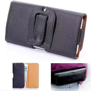 Leather Belt Clip Holster Kickstand Pouch Case Cover for iPhone 6 Plus 14cm