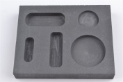 Graphite Casting Ingot Mould Metal Refining Scrap Bar Coin Combo 1/4 1/2 30ml