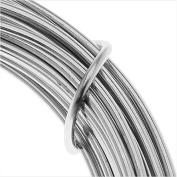 Artistic Wire Aluminium Craft Wire, 12 Gauge Thick, 12 Metre Spool, Natural Aluminium