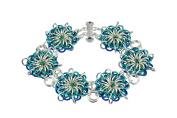 Weave Got Maille's Flares Reversible Chain Maille Bracelet Kit, Atlantis