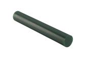 Matt Carving Wax CA-2707 Round Solid Tube 2.5cm - 0.2cm Green