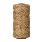 Shintop 90m Natural Jute Twine Best Industrial Packing Materials Heavy Duty Natural Jute Twine for Arts and Crafts and Gardening Applications