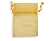 20 Organza Pouch Bag Jewellery Wedding Reception Party Sweet 16 Favours Xmas Gifts Gold